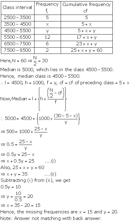 Chapter 9 Mean Median Mode Of Grouped Data Cumulative Frequency Graph And Ogive R S Aggarwal And V Aggarwal Solutions For Class 10 Mathematics Cbse Topperlearning