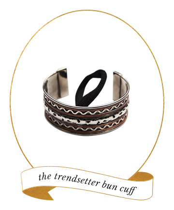Hair Accessory Must-Have: Bun Cuff