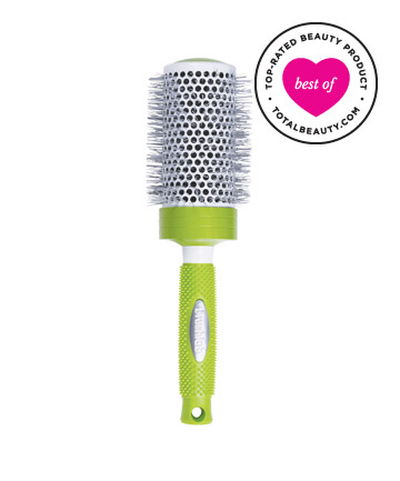 Best Hair Brush No. 7: Brushlab Ceramic Thermal Hair Brush (Orange Series), $16
