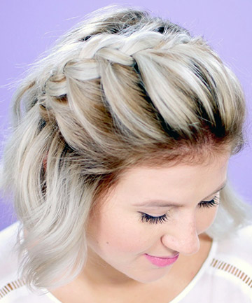 French Braid For Short Hair 25 Pretty French Braid