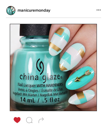 Mani Of The Week Dreamy Turquoise Nails
