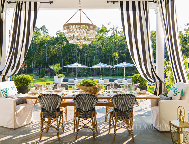 Alfresco Style At The Hampton Designer Showhouse