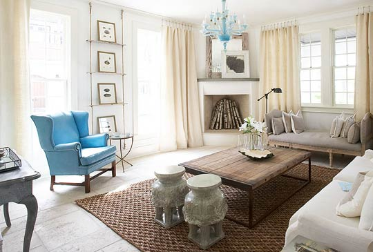 Beachfront Showhouse With A Beautiful, Calm Palette