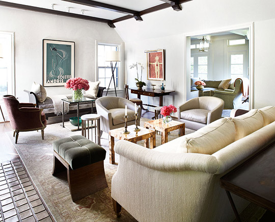Spanish Colonial House with Calm Palette   Traditional Home   ENLARGE