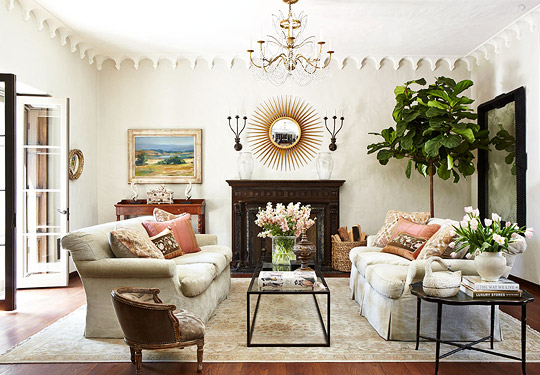 Decorating Ideas  Elegant Living Rooms   Traditional Home   ENLARGE  Elegant Appointments