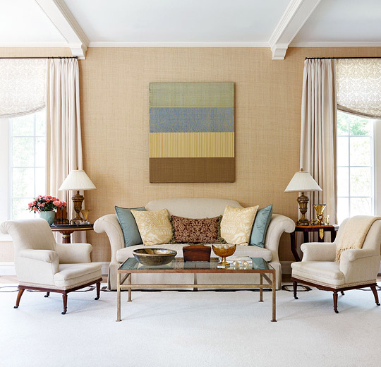 Decorating Ideas  Elegant Living Rooms   Traditional Home Elegance  Only  Looks Easy  Elegant living rooms display fine design