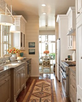 Beautiful  Efficient Small Kitchens   Traditional Home Small Kitchens