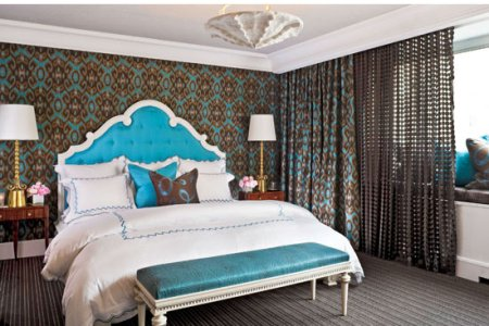 Bedroom Decorating Ideas  Modern and Sophisticated   Traditional Home   ENLARGE