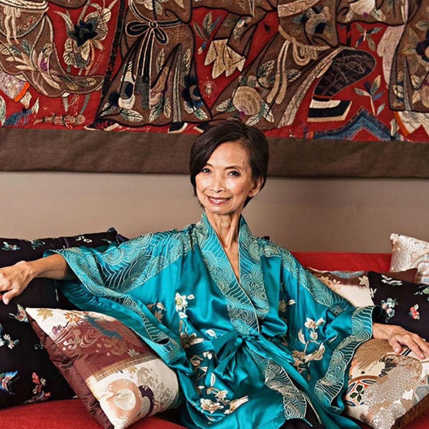 Tastemaker Fashion Designer Josie Natori Traditional Home