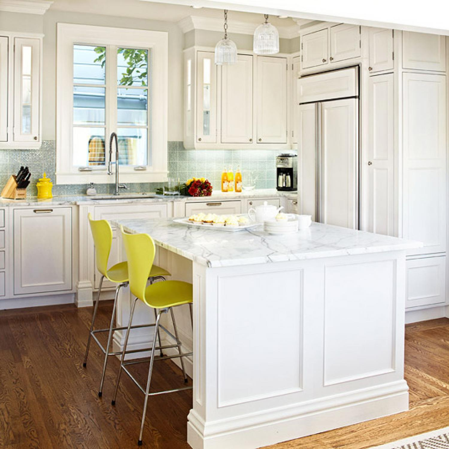 Simple White Kitchen Ideas