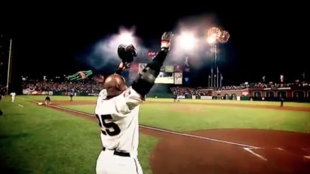 Image result for barry bonds giants home run record