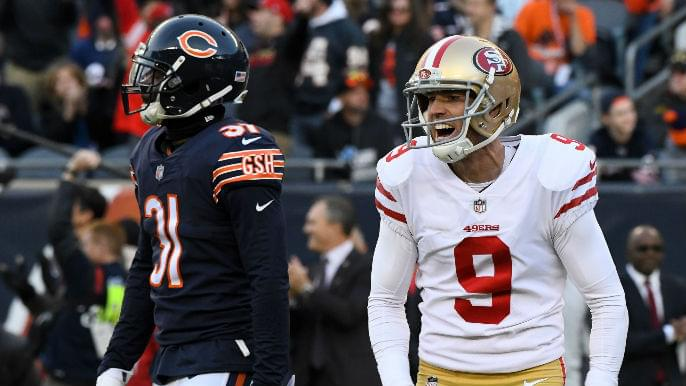 Image result for Robbie Gould 49er