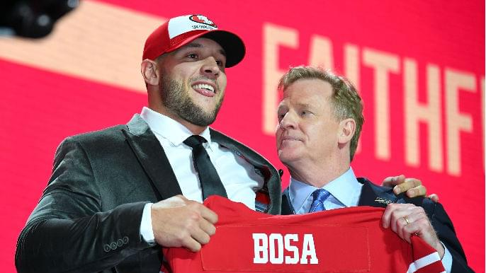 Image result for nick bosa