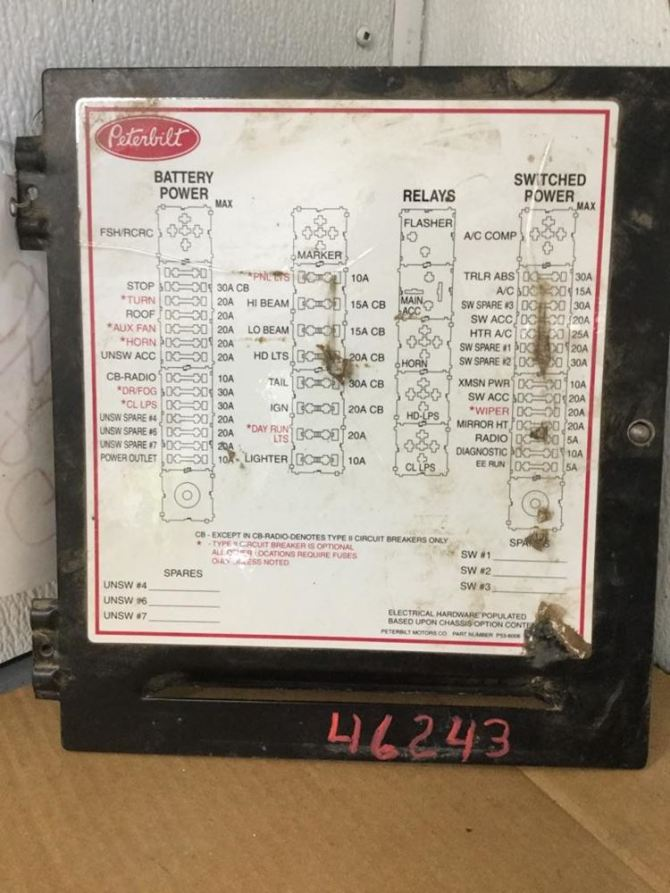 peterbilt 379 fuse box  auto wiring diagrams response