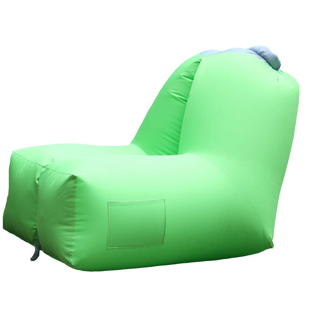 fauteuil gonflable exterieur 91x121x88 coloris lime
