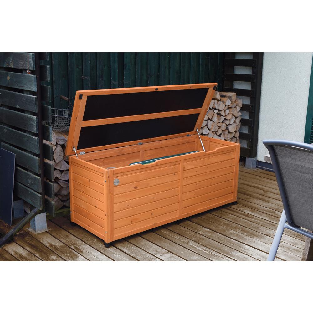 armoire de balcon terrasse 195 en sapin de chine 150x56x65cm
