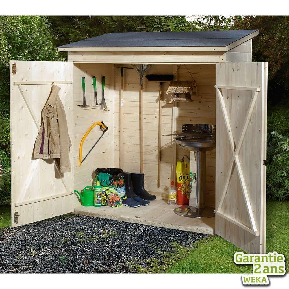 armoire de jardin terrasse 361 a en epicea 173x105x190cm