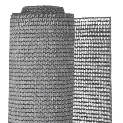 brise vue set de fixation gris clair occultation 95 190 g m 1 5x5
