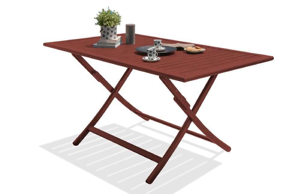 tables de jardin pliantes extensibles