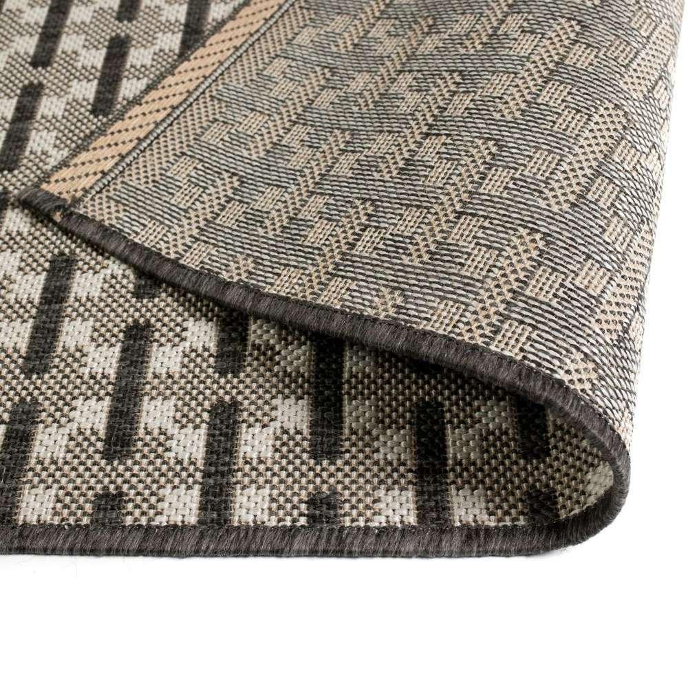 tapis d exterieur d interieur aspect de sisal 120 x 170cm carre