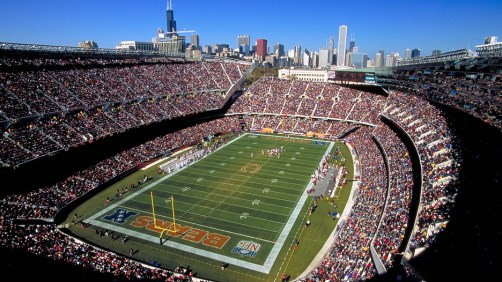 Unlike Lambeu, Soldier field is not well liked by the fans and players of Chicago.