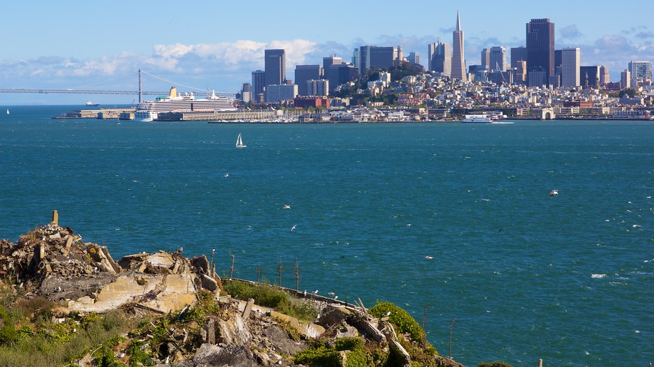best views on San Francisco - view from Alcatraz