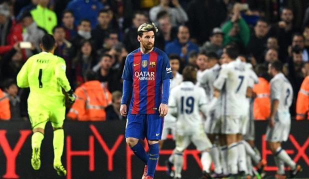 Messi y su tristeza