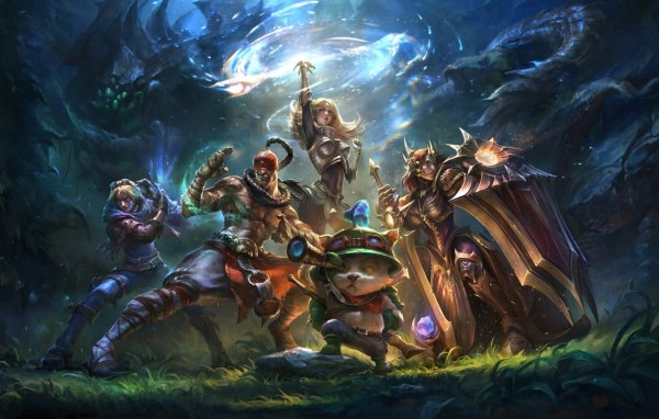 League of Legends mobile may be a card game or MOBA (or both?)