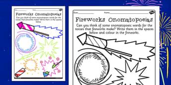 Onomatopoeia Primary Resources Aids Words