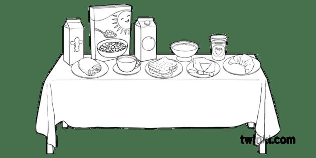 etiquette du petit dejeuner francais et