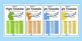 Editable Airline Boarding Pass Airport Role Play Pack Roleplay