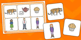 The Tiger Who Came To Tea Word Mat Images Tiger Tea The