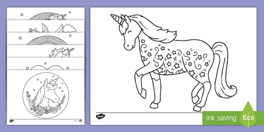 Fairy Colouring Pages For Kids Teacher Made