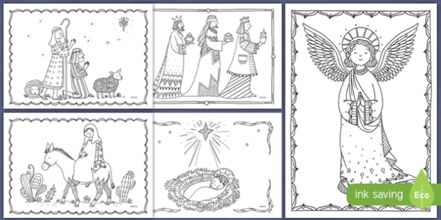 Mindfulness Colouring Christmas Teaching Resources