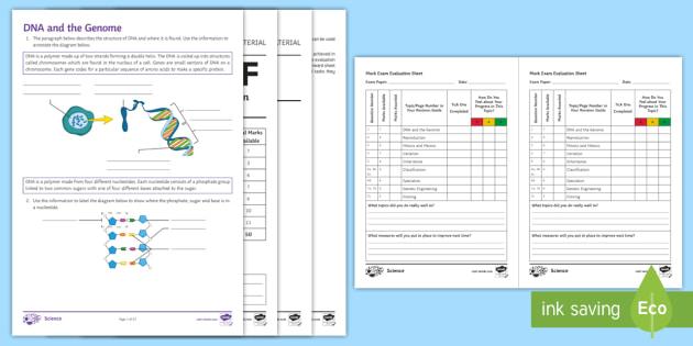 Inheritance, Variation and Evolution Separate Foundation Assessment Pack (Separate)