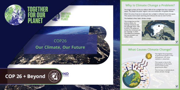 COP26: Our Climate, Our Future PowerPoint Age 11+