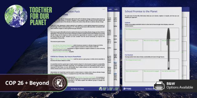 COP26: School Action Pack