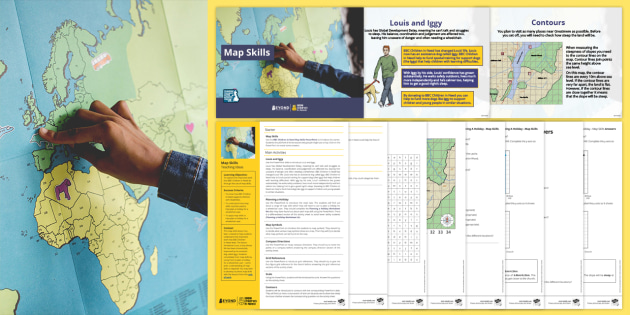 BC Children in Need: Geography Map Skills Lesson Pack