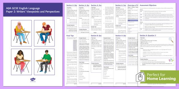 AQA English Language Paper 2 Revision Booklet - Beyond