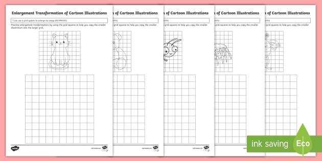 Fun Enlargement Worksheet