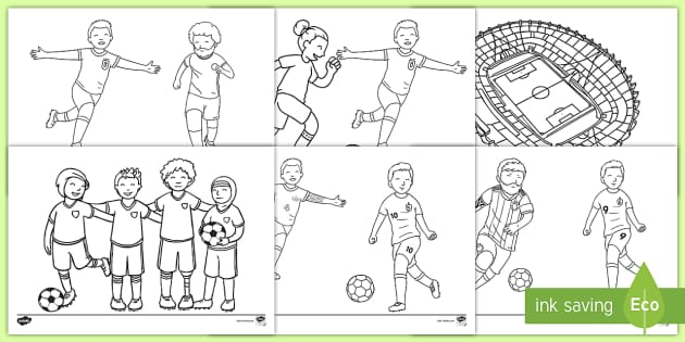 Football Coloring Pages Teacher Made