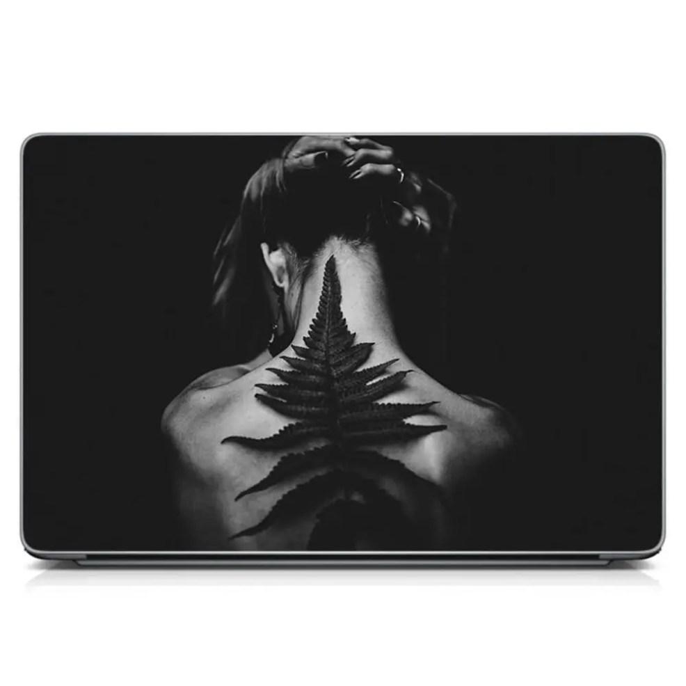 виниловый стикер для ноутбука 3d тату матовая