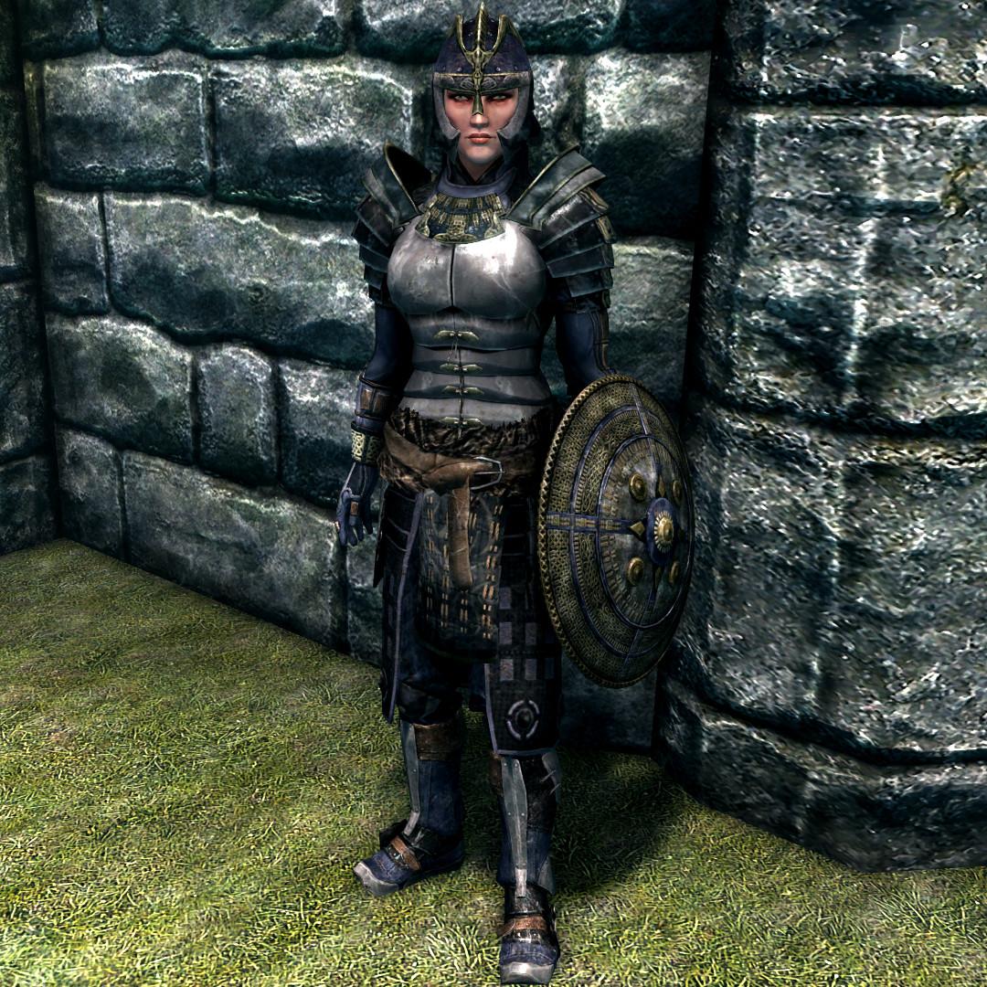 Image result for blades armor skyrim female