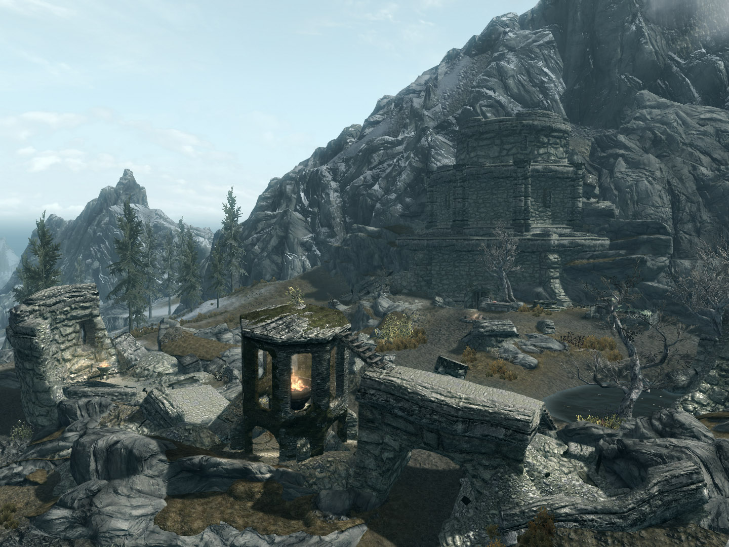 Image result for skyrim fellglow keep