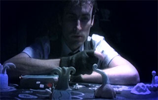 Musician Andrew Bird plays with sea creatures
