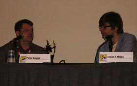 Peter Bagge at 2010 Comic Con
