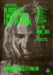 Film festival poster that features a zombie