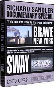 DVD cover with scenes of New York City