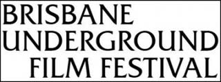 Text logo for the Brisbane Underground Film Festival