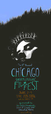 18th annual Chicago Underground Film Festival poster